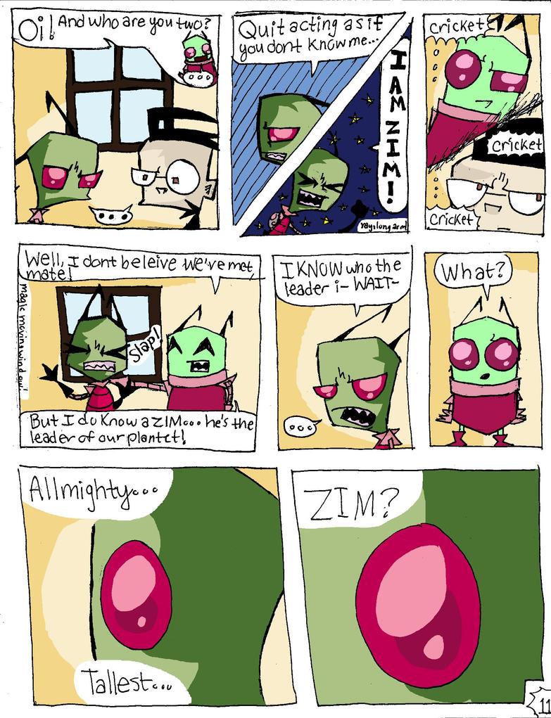 Invader Zim Fan Comics Invader ZIM Comic Page...