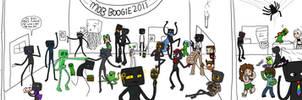 Minecraftian Mob Boogie