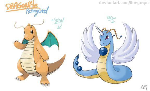 Pokemon Reimagined: Dragonite