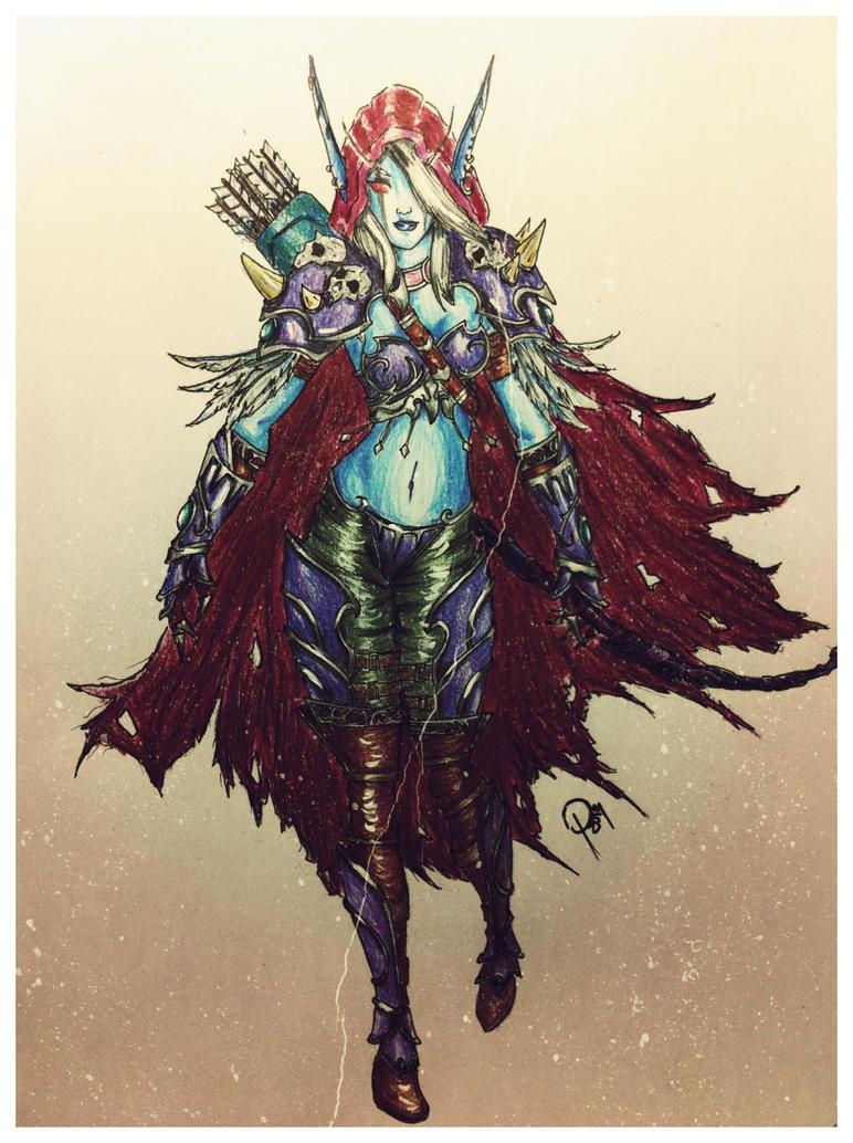 Banshee Queen by ofruin