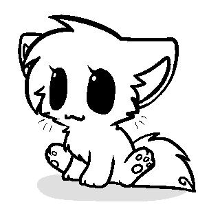 Kitten Base by MistyMochi