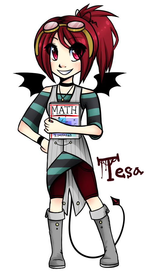 Tesa Math Buddy by MistyMochi