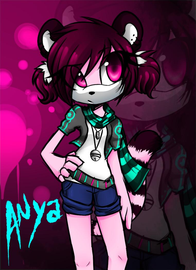 Lemur girl by MistyMochi
