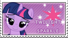 Twilight Sparkle Stamp by SugarShiina