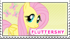 Fluttershy Stamp by SugarShiina