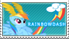 Rainbow Dash Stamp v1 by SugarShiina