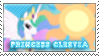 Princess Celestia Stamp by SugarShiina