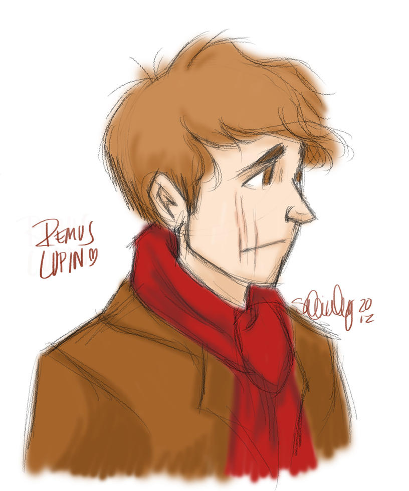 Remus Lupin by sawebee