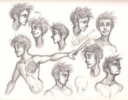 Niall Expressions by sawebee