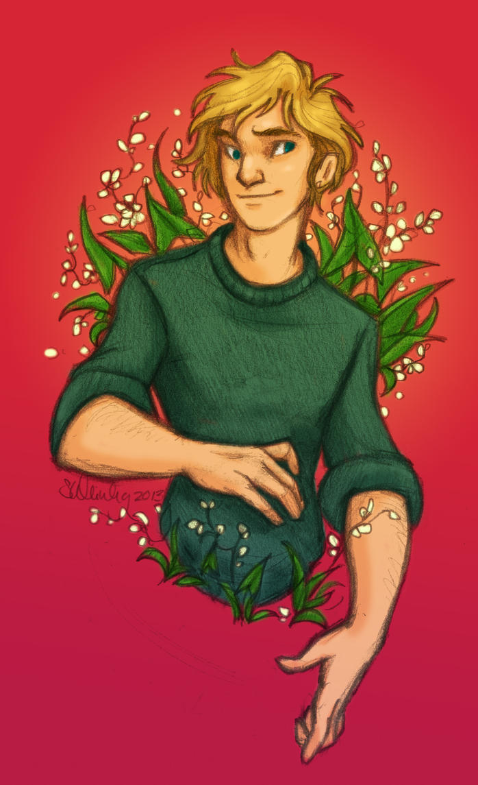 Peeta for Eunice by sawebee