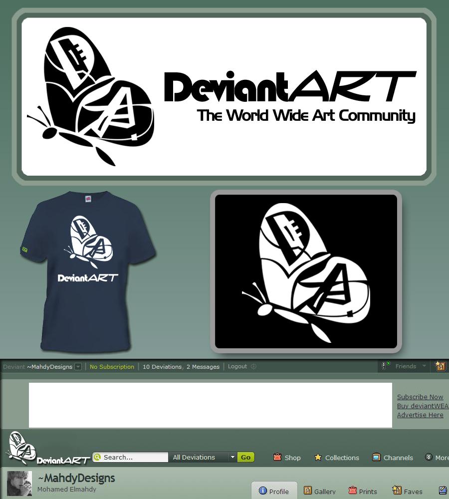 Deviantart - Art Butterfly by MahdyDesigns