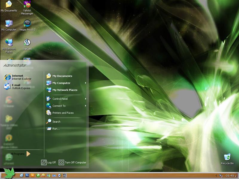 My Desktop by MahdyDesigns