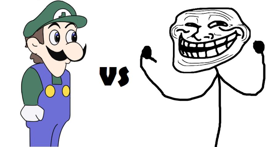 Weegee VS Trollf...U Jelly Trollface