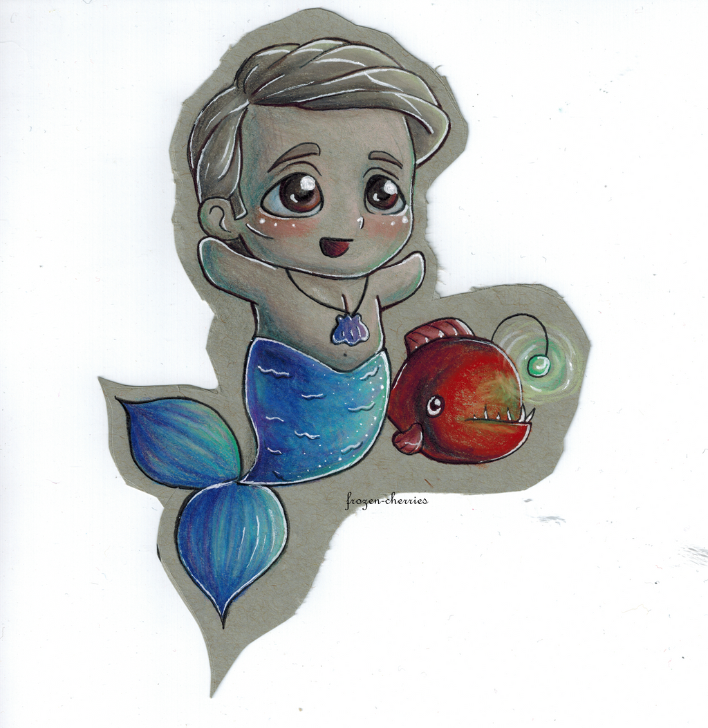 the little cannibal mermaid by frozencherries on deviantart