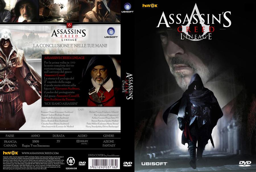 Assassin S Creed Lineage By Frankfiume On Deviantart