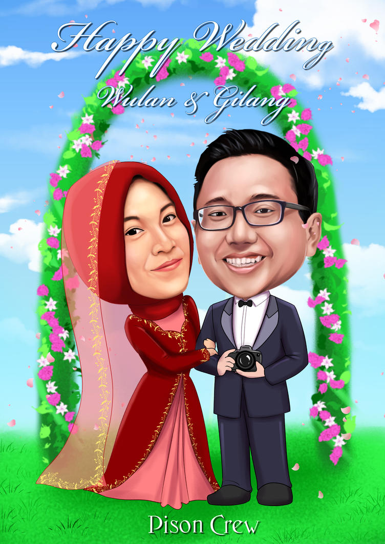 Happy Wedding Wulan   Gilang by amiamka