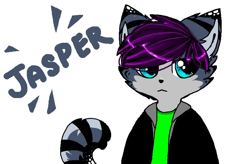 Jasper ((new character)) by MurisakiKitten