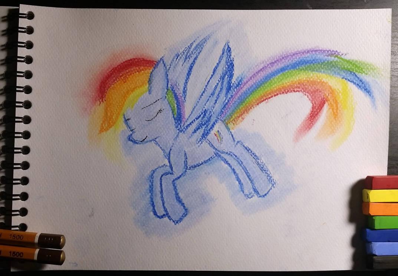 One Hour Pastel Rainbow