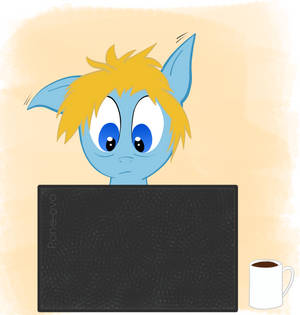 ATG Day 20 - Draw a pony working against the clock