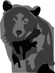 Bear Inkscape by cmason8