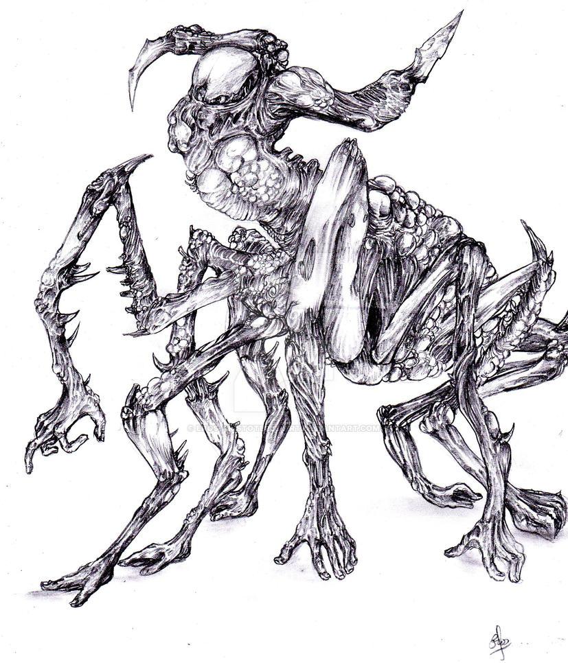 Black spider by erosmilestailsprower