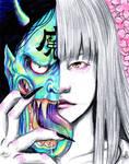 japanese demon girl
