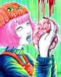 the sweet taste of blood