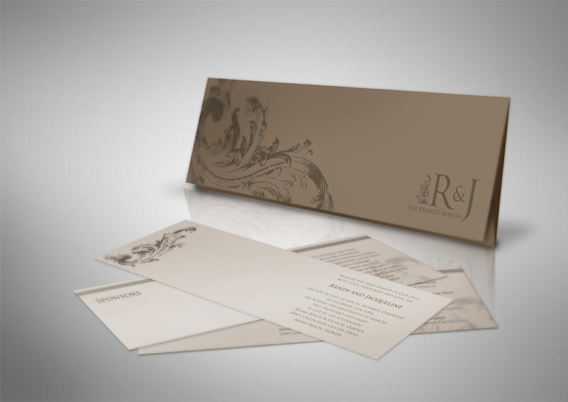 Wedding Invitation 1 by rcryn on deviantART anime wedding stationery