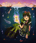 Water Doll -colored-
