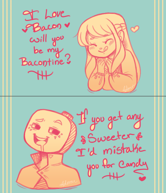 Valentines day cards by adoren