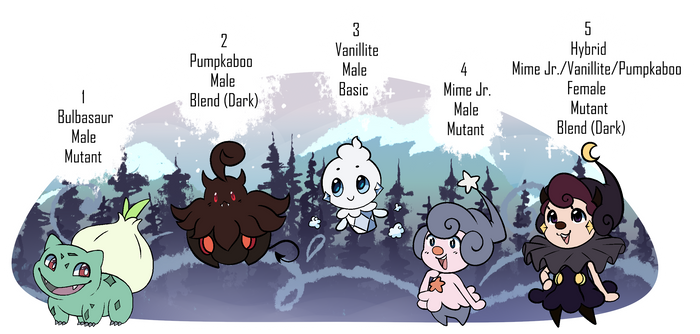 [PKMN-Adv.] Frost and Plants Clutch (Open!)