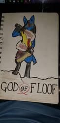 God of Floof by AlbieTheFloof
