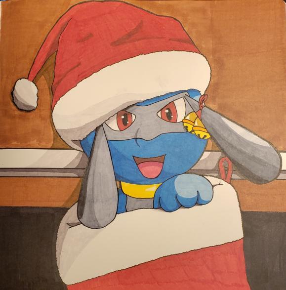 Christmas Riolu