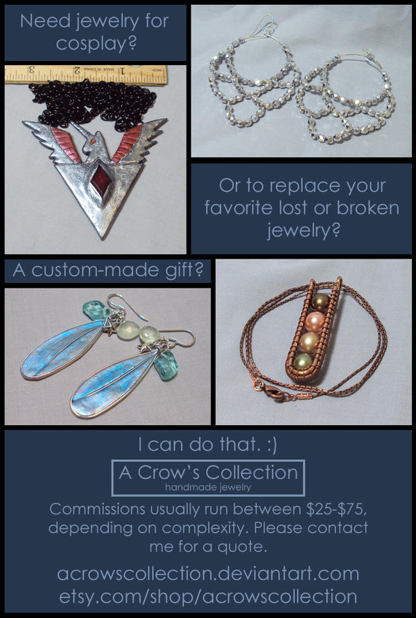 jewelry commissions info by ACrowsCollection