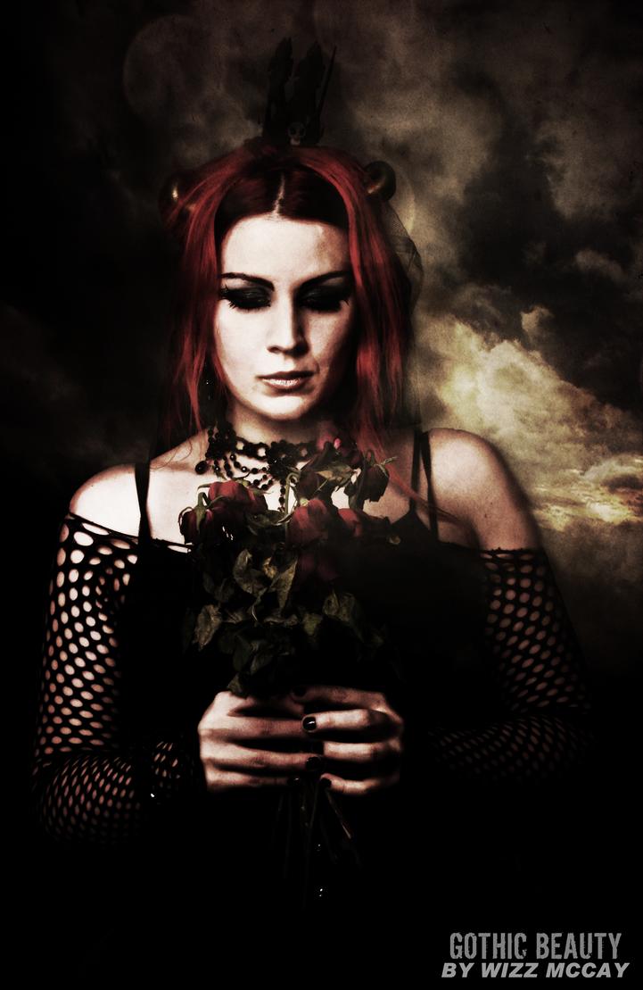 Gothic Beauty 02 by wizz-mccay