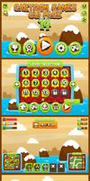 Candy Saga Game GUI