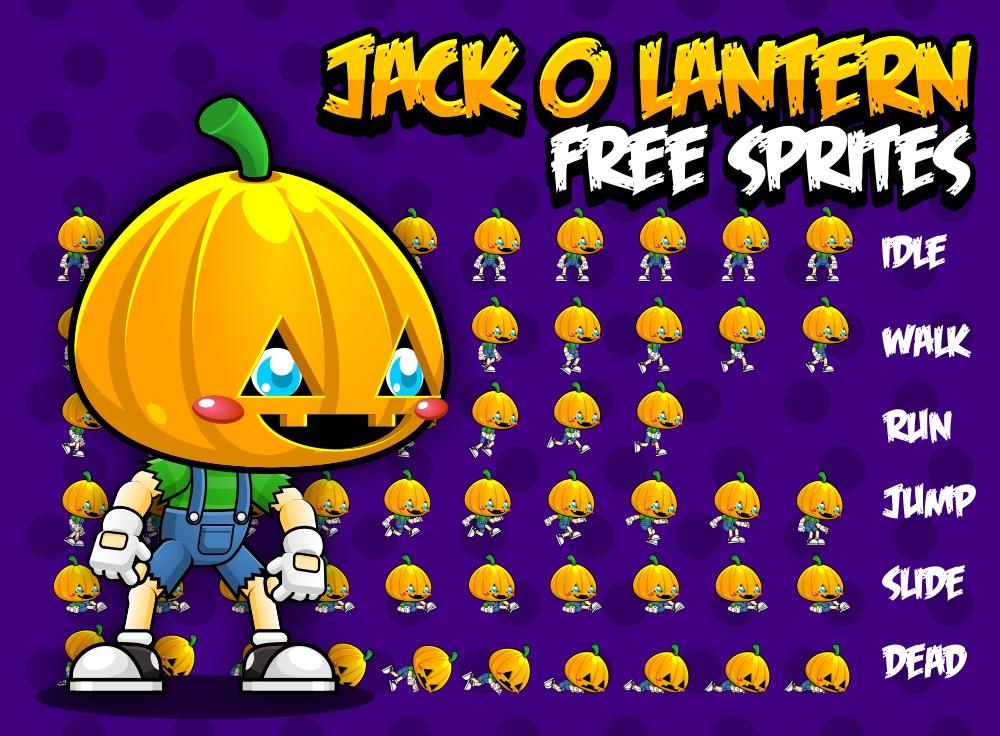Jack o' Lantern - Free Sprite by pzUH on DeviantArt