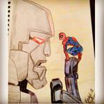 Megatron and Spider-Man