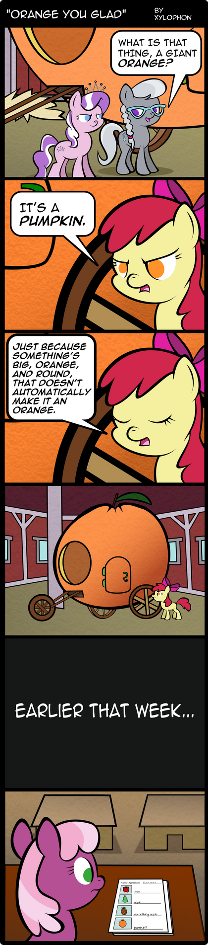 Orange you glad? by Xylophon