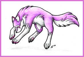 Purple Wolf by Halo-2-fan