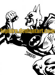 Batman1 by Lephiro