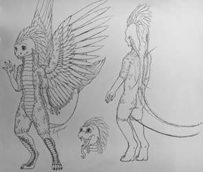 Quetzalcoatl  by Lephiro
