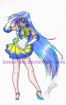 Sailor Galaxy Goddess