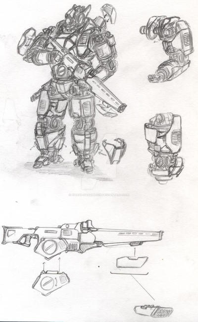 vampire tactical mech-weapons and armour loadout by chaos-sandwhich