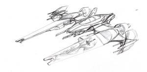 sci fi jet