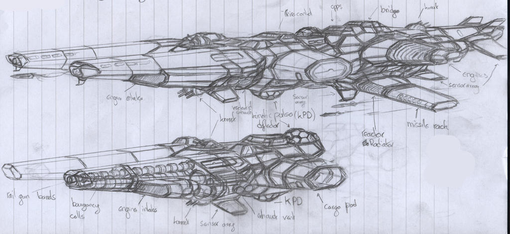 Vesper Class (concept sketch) by chaos-sandwhich