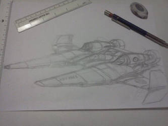 New plane - WIP : Venator class by chaos-sandwhich