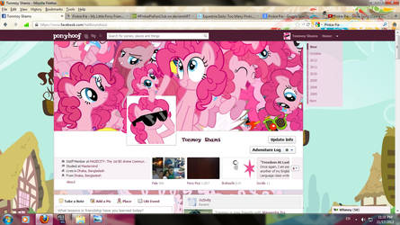 Too Many Pinkie Pies... In my Facebook profile!~~~