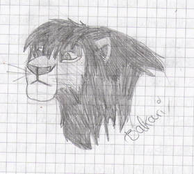 Bakari scribble :3 by LeenKiburi