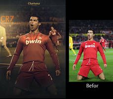 cr7 befor and after